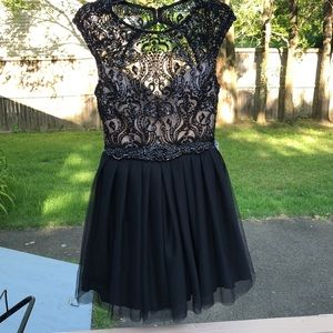 Say yes to the dress sequin, Lace & Chiffon Dress